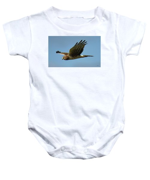 Harrier In Flight Baby Onesie