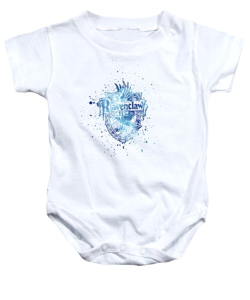 Harry Potter Ravenclaw House Silhouette Baby Onesie