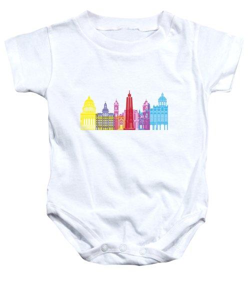 Havana Skyline Pop Baby Onesie