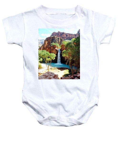Havasu Falls - Havasupai Indian Reservation Baby Onesie