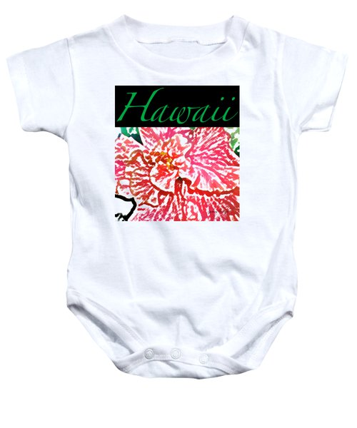 Hawaii Blush T-shirt Baby Onesie