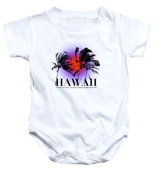 Hawaiian Sunrise Baby Onesie