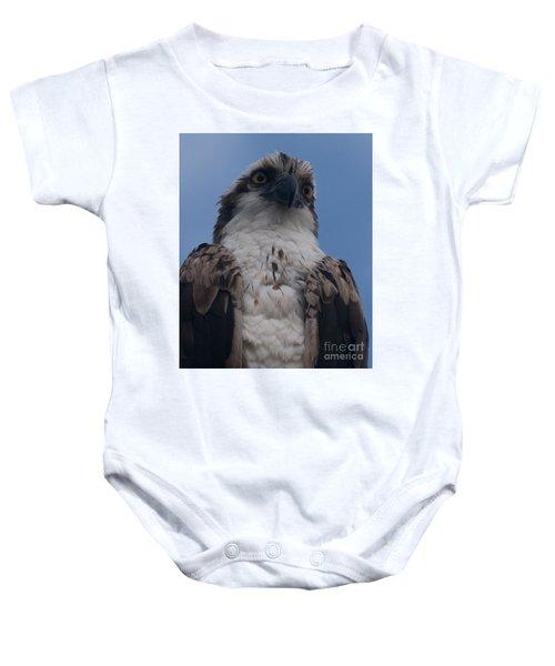 Hawk Stare Baby Onesie
