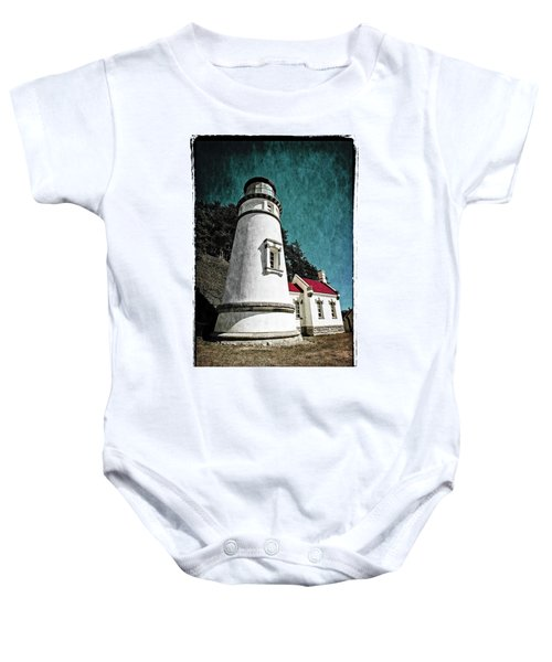 Hecitia Head Lighthouse Baby Onesie