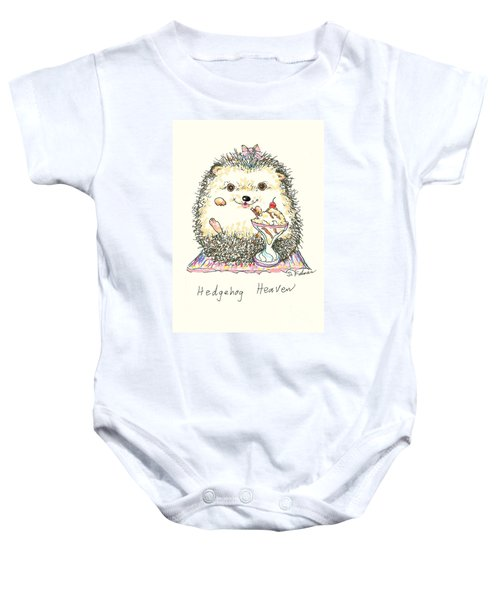 Hedgehog Heaven Baby Onesie
