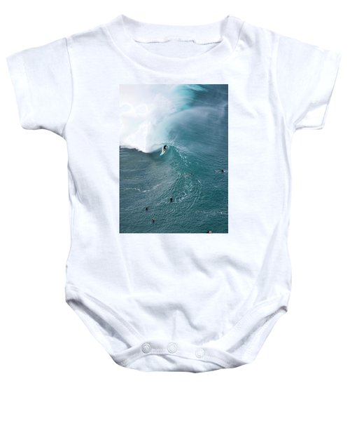 Tubed From Above. Baby Onesie