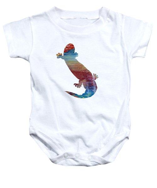 Hellbender Salamander Baby Onesie