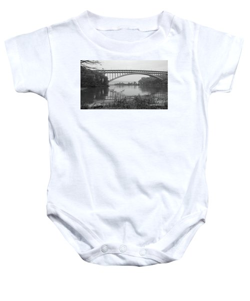 Henry Hudson Bridge  Baby Onesie