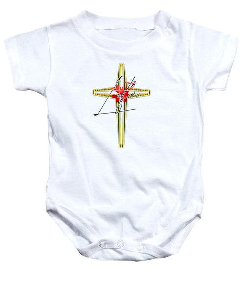 Here Shall Thy Proud Waves Be Stayed Baby Onesie