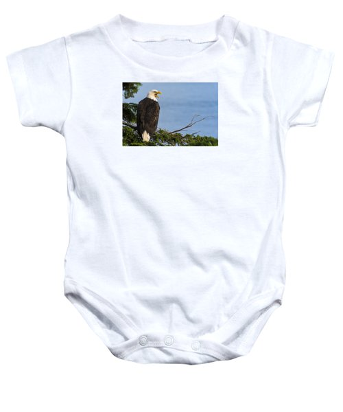 Baby Onesie featuring the photograph Hey by Gary Lengyel