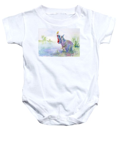 Hey Whats The Big Idea Baby Onesie by Amy Kirkpatrick
