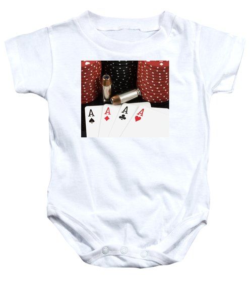 High Stakes Poker Baby Onesie