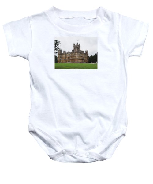 Highclere Castle Baby Onesie