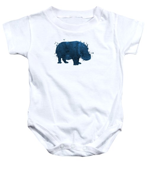 Hippo Baby Onesie
