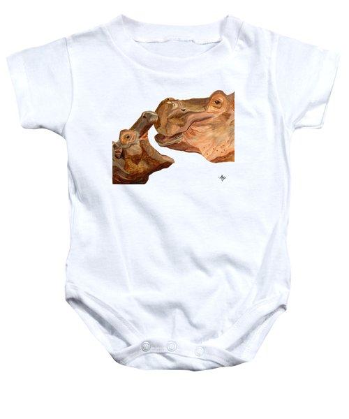 Hippos Baby Onesie