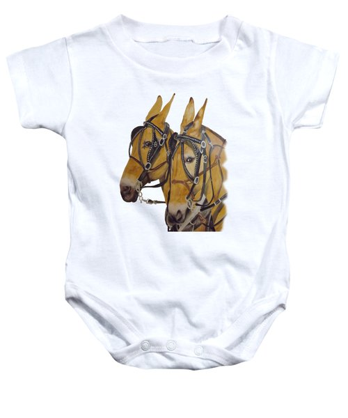 Hitched #2 Baby Onesie by Gary Thomas