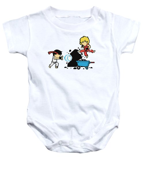 Hits Baby Onesie by Opoble Opoble