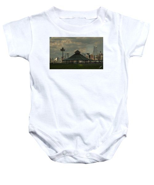 Away From It All Baby Onesie