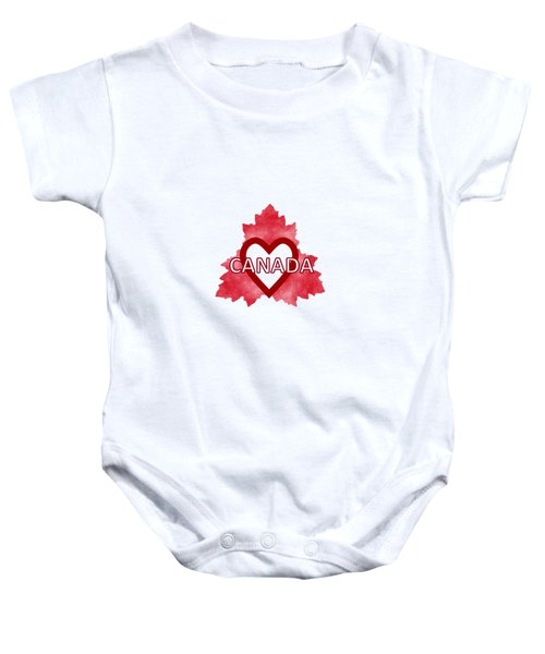 Home Sweet Canada Baby Onesie