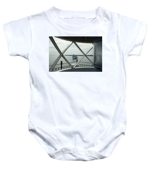 Home To Rockland Baby Onesie