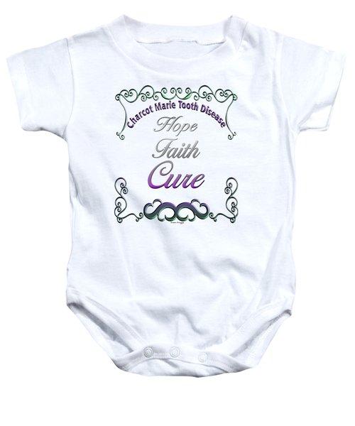 Hope Faith Cure For Cmt Baby Onesie