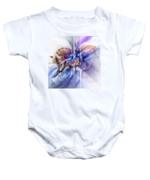 Horse Prayer Baby Onesie
