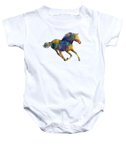 Horse Running Baby Onesie