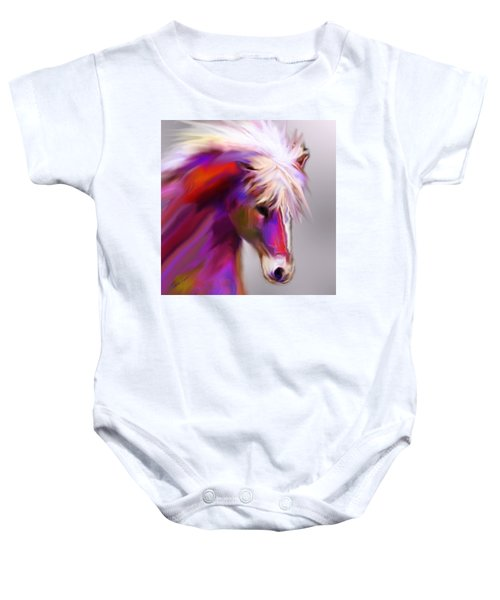 Horse True Colors Baby Onesie