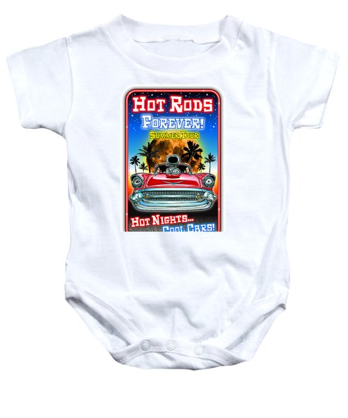 Hot Rods Forever Summer Tour Baby Onesie