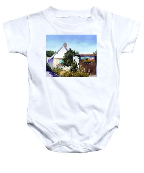 House At Giverny Baby Onesie