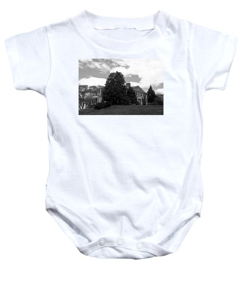 House On The Hill Baby Onesie by Jose Rojas