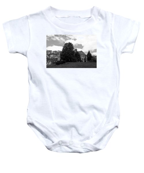 House On The Hill Baby Onesie