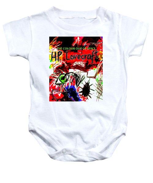 Hp Lovecraft Poster  Baby Onesie