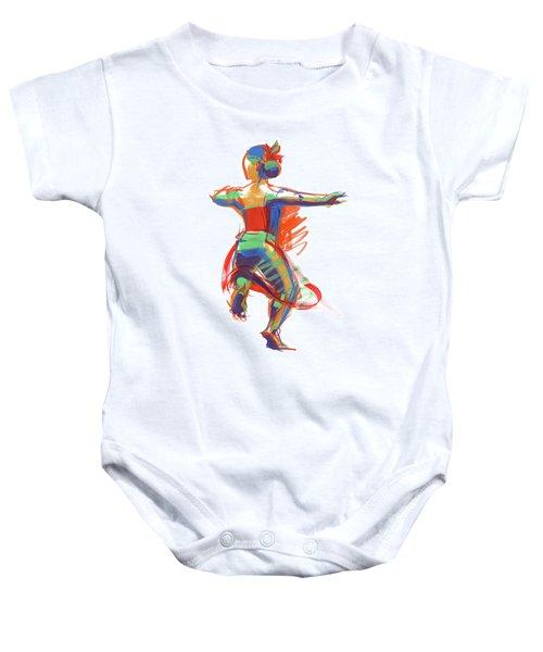 Hula Wahine Ikaika Baby Onesie