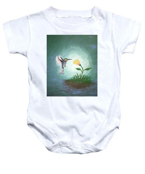 Hummingbird II Baby Onesie