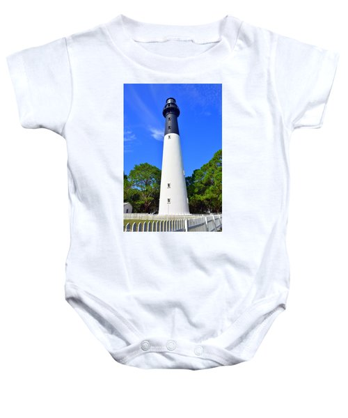 Hunting Island Lighthouse Beaufort Sc Baby Onesie