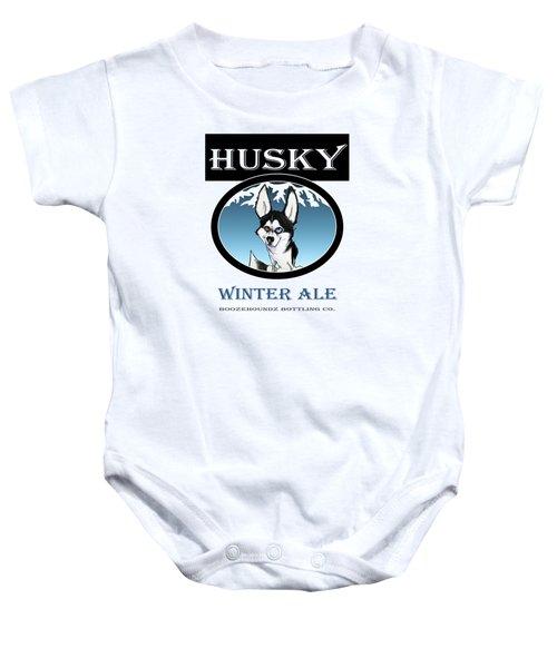 Husky Winter Ale Baby Onesie