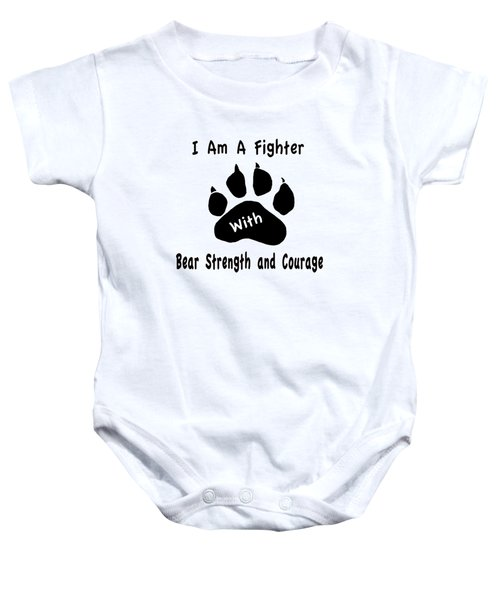 I Am A Fighter Baby Onesie