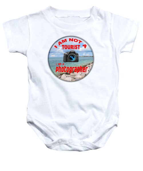 I Am Not A Tourist Baby Onesie