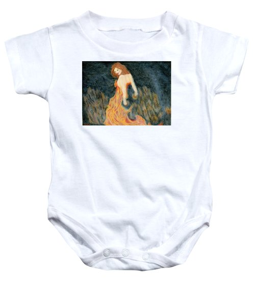 I Am The Fire Baby Onesie
