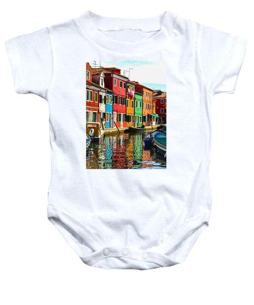 I Dream In Color Baby Onesie