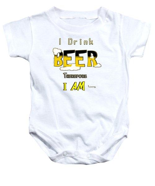 I Drink Beer Baby Onesie