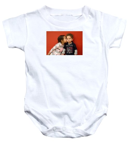 I Give You A Kiss Baby Onesie
