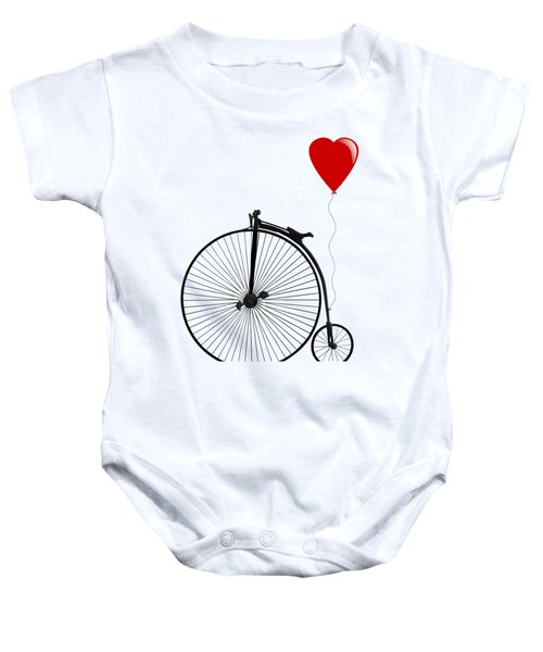 I Love Cycling Baby Onesie