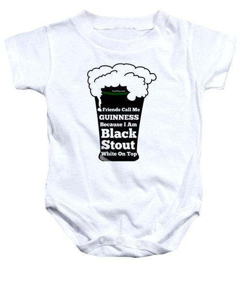 I Love Guinness  Baby Onesie