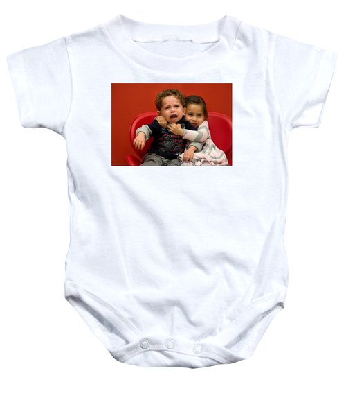 I Love You Brother Baby Onesie