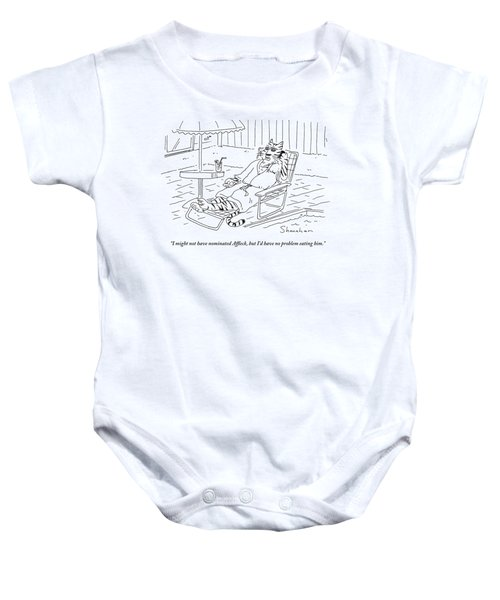 I Might Not Have Nominated Affleck, But I'd Baby Onesie by Danny Shanahan