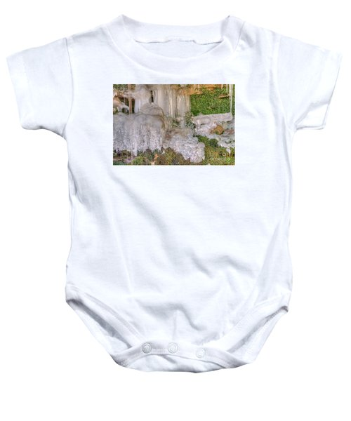 Ice Formations Baby Onesie