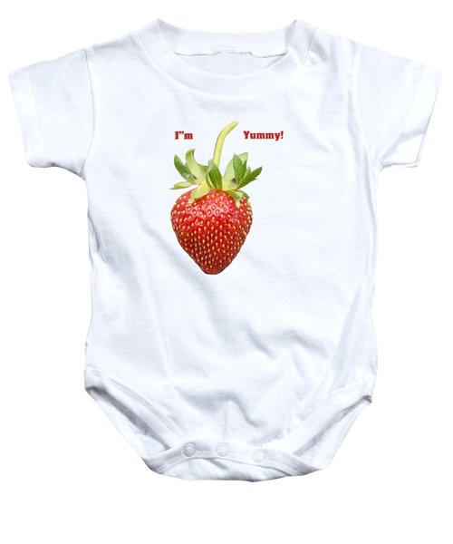 Im Yummy Baby Onesie by Thomas Young