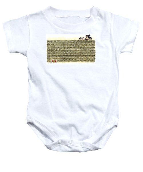 Immigrant Kids At The Border Baby Onesie